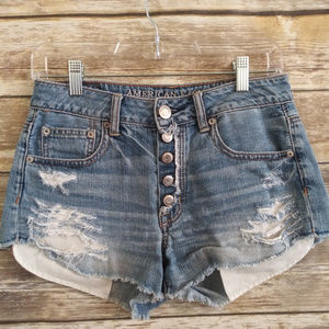 AMERICAN EAGLE  High Rise festival short size 2